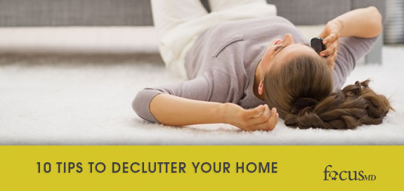 Have ADHD? Time to get rid of the clutter